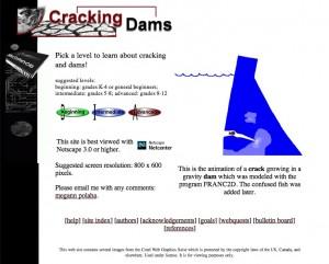 Cracking Dams